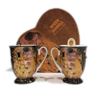 Skodelici Klimt Kiss Black 300ml