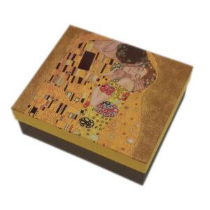 Skodelici_z_žličko_Klimt_Kiss_Black_Macchiato