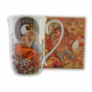 Skodelica_Klimt_Mucha_II_400ml