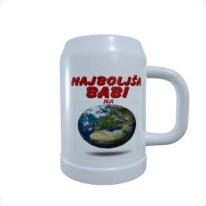 Beer_Mug_Najboljša babi na svetu planet