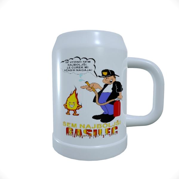 Beer_Mug_Najboljši Gasilec z ognjem