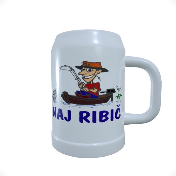 Beer_Mug_Ribič v čolnu