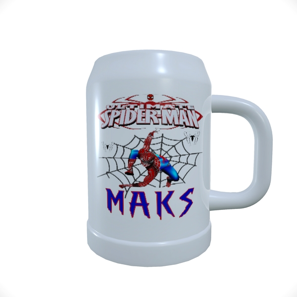 Beer_Mug_SPIDERMAN