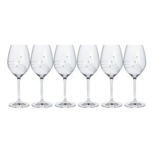 Swarovski-kozarec-Celebration-temno-vino