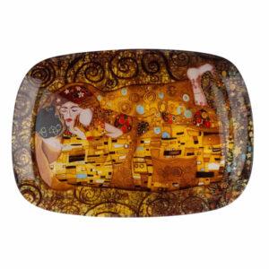Krožnik Klimt Kiss 35x25cm
