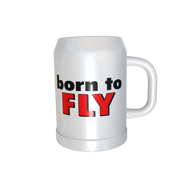 Beer_Mug_Born_To_Fly