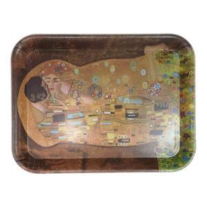 Pladenj_Klimt_Kiss_plastičen