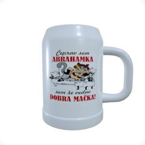Pivski_vrcek_Abrahamka_Huda_Mačka